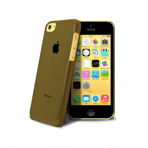 """Vue complémentaire de Coque """"Crystal"""" pour iPhone 5C Noire"""