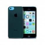 """Visuel unique de Coque """"Crystal"""" pour iPhone 5C Noire"""