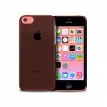 """Visuel supplémentaire de Coque """"Crystal"""" pour iPhone 5C Noire"""