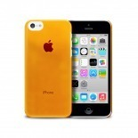 "Vue portée de Coque ""Crystal"" pour iPhone 5C Orange"