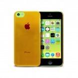 """Visuel supplémentaire de Coque """"Crystal"""" pour iPhone 5C Orange"""