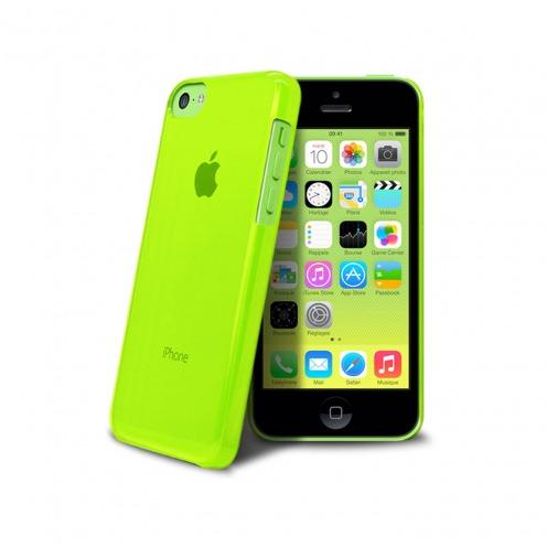 "Coque ""Crystal"" pour iPhone 5C Verte"