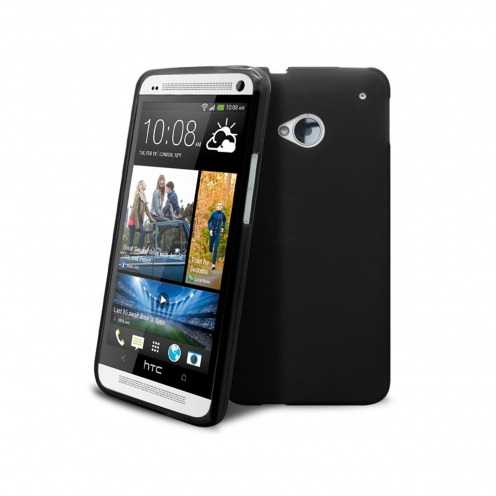 Coque HTC One Frozen Ice Extra Fine Noire Opaque