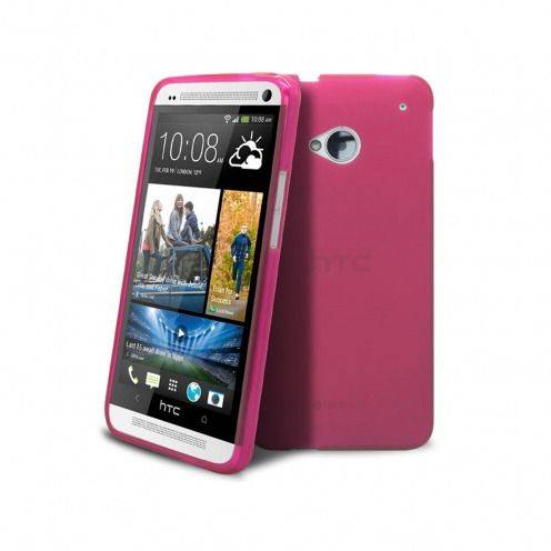 Coque HTC One Frozen Ice Extra Fine Rose
