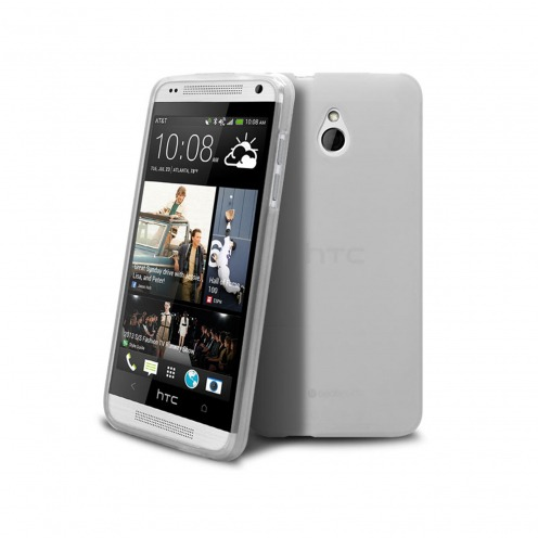 Visuel unique de Coque HTC One mini Frozen Ice Extra Fine Blanche