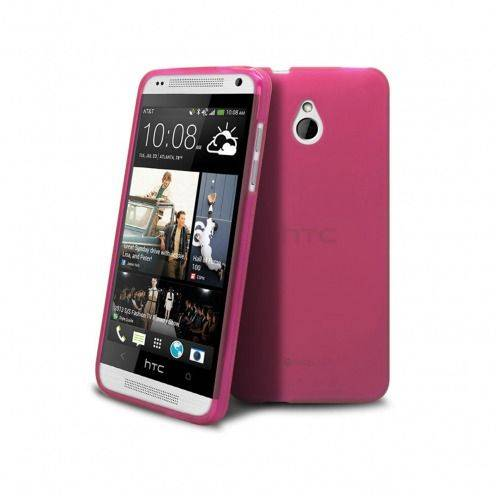 Coque HTC One mini Frozen Ice Extra Fine Rose