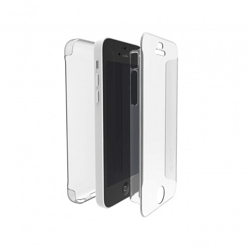 Vue portée de Coque iPhone 5C X-Doria® Defense 360° transparente