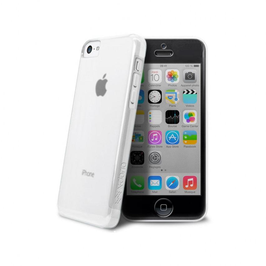 Zoom sur Coque iPhone 5C X-Doria® Defense 360° transparente