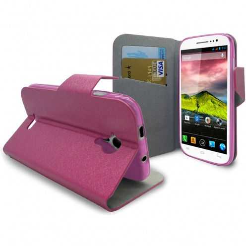 Smart Cover Wiko Cink Five Papyrus Rose