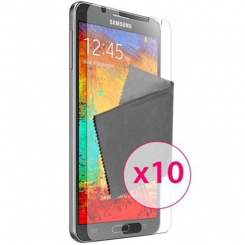 Zoom sur Films de protection Samsung Galaxy Note 3 Clubcase ® HD Lot de 10