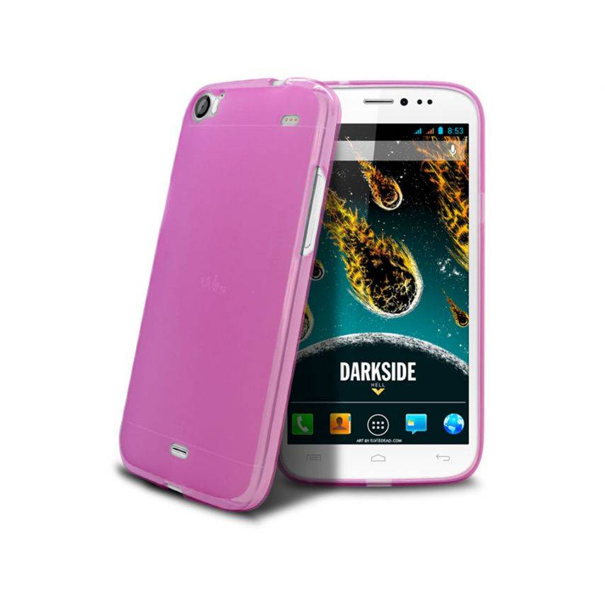 Visuel unique de Coque Wiko DARKSIDE Frozen Ice Extra Fine Rose