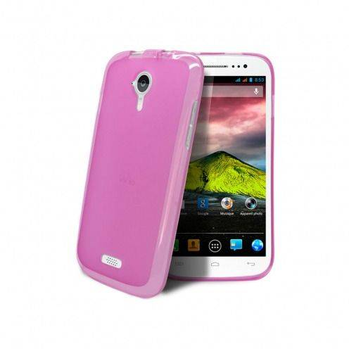 Visuel unique de Coque Wiko Cink Five Frozen Ice Extra Fine Rose