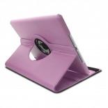 Vue complémentaire de Coque iPad Air rotative 360° cuir PU Rose