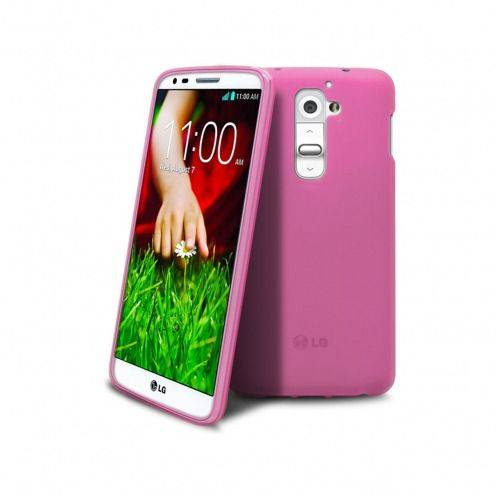 Coque LG G2 Frozen Ice Extra Fine Rose