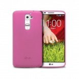 Photo réelle de Coque LG G2 Frozen Ice Extra Fine Rose