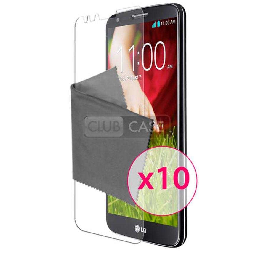 Zoom sur Films de protection LG G2 Clubcase ® HD Lot de 10