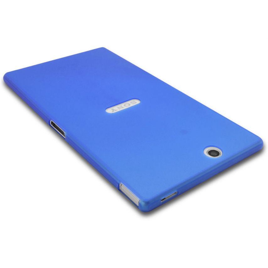Photo réelle de Coque Ultra Fine 0.3mm Frost XPERIA Z Ultra Bleue