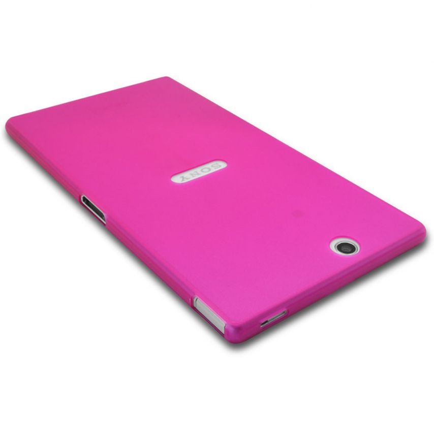Photo réelle de Coque Ultra Fine 0.3mm Frost XPERIA Z Ultra Rose