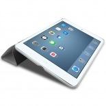 Vue complémentaire de Coque Smart Cover Stand iPad Mini Retina Blanche