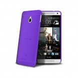 Visuel unique de Coque Ultra Fine 0.3mm Frost HTC One mini Violette