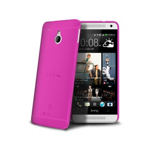 Visuel unique de Coque Ultra Fine 0.3mm Frost HTC One mini Rose