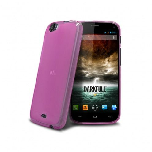 Coque Wiko DARKFULL Frozen Ice Extra Fine Rose