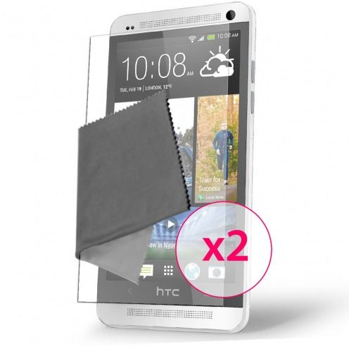Films de protection Anti-Reflet HTC One Mini Clubcase ® Lot de 2