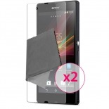 Zoom sur Films de protection Anti-Reflet Xperia Z Clubcase ® Lot de 2