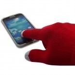 Visuel supplémentaire de iTouch - Gants tactiles spécial iPhone Rouge Taille S