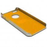 Visuel unique de Coque iPhone 5S / 5 Aluminium Chrome COLORS BRUSH Argentée