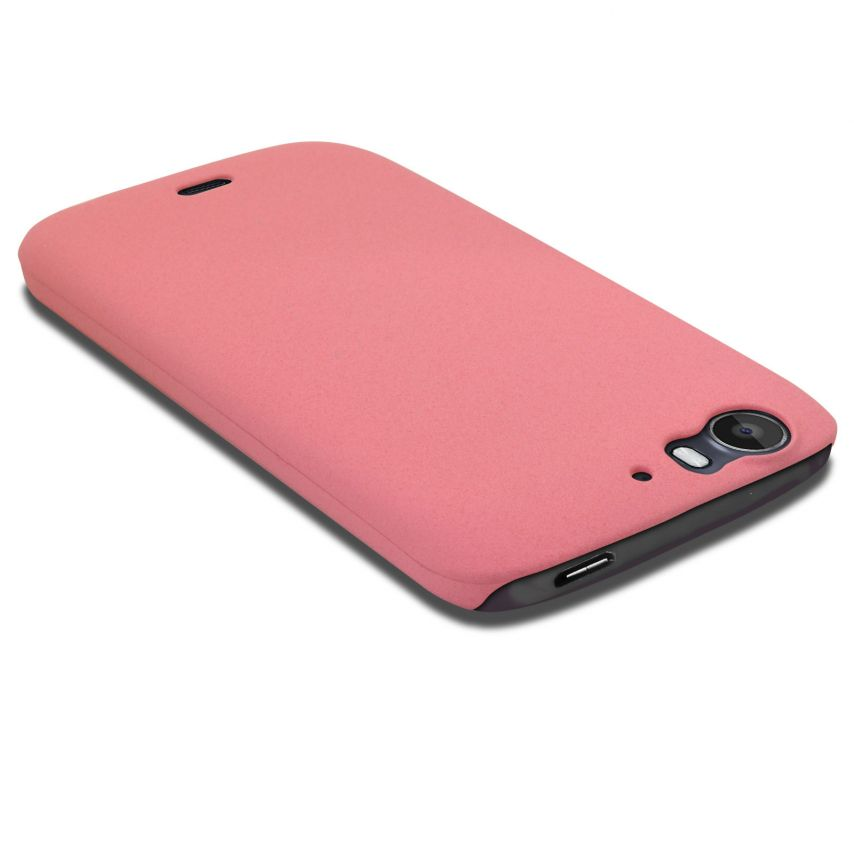 Photo réelle de Coque Wiko Darkfull Sand Rose