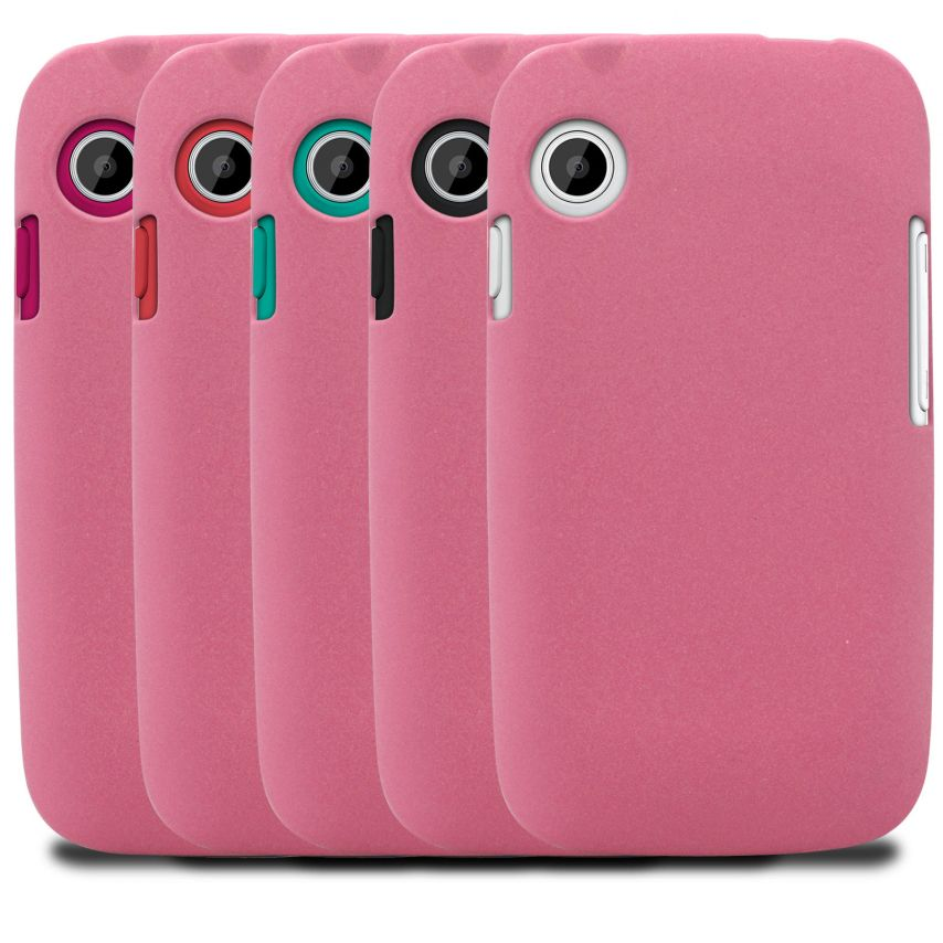 Photo réelle de Coque Wiko Ozzy Sand Rose