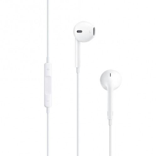 Vue complémentaire de Ecouteurs / Kit Piéton Apple EarPods avec Micro et Volume MD827ZMA