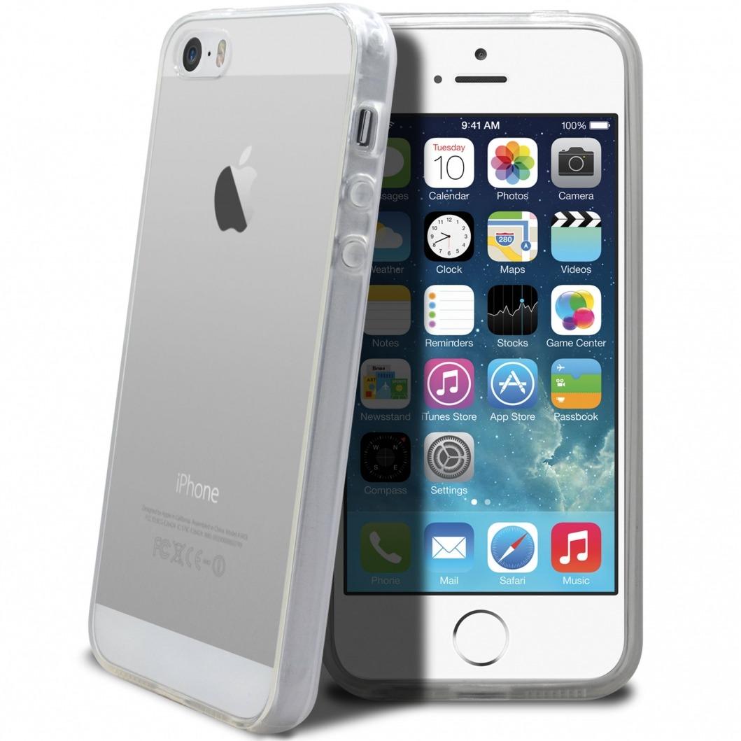 Coque Iphone 5 : coque souple crystal pour iphone 5 5s se ~ Teatrodelosmanantiales.com Idées de Décoration