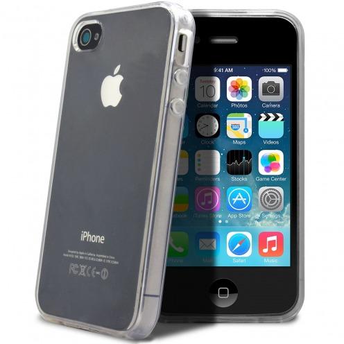 """Visuel supplémentaire de Coque Souple """"Crystal Clear"""" pour iPhone 4/4S"""