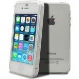 """Vue complémentaire de Coque Souple """"Crystal Clear"""" pour iPhone 4/4S"""