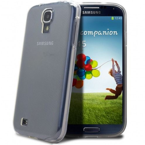 "Coque Souple ""Crystal Clear"" pour Samsung Galaxy S4"