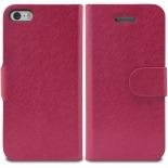 Vue portée de Smart Cover iPhone 5/5S Papyrus Rose
