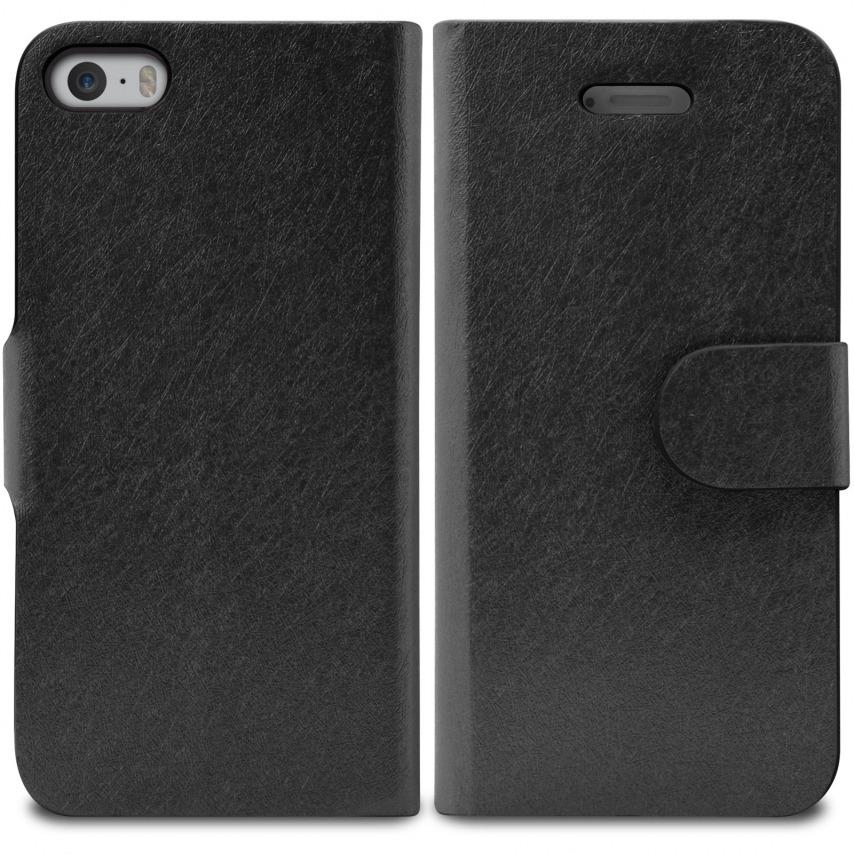 Vue portée de Smart Cover iPhone 5/5S Papyrus Noire