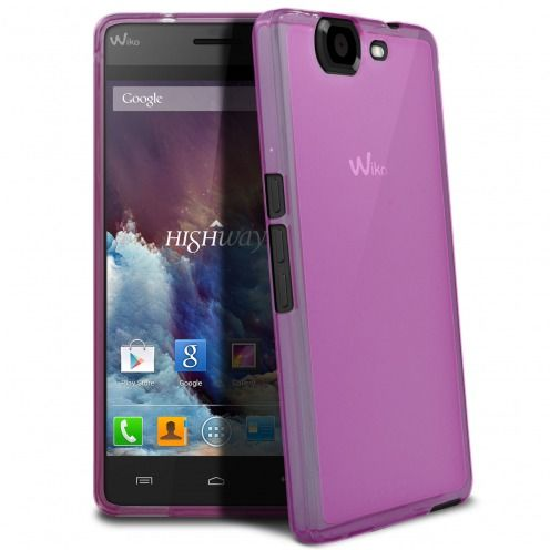 Coque Wiko Highway Frozen Ice Extra Fine Rose