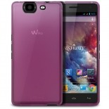 Photo réelle de Coque Wiko Highway Frozen Ice Extra Fine Rose
