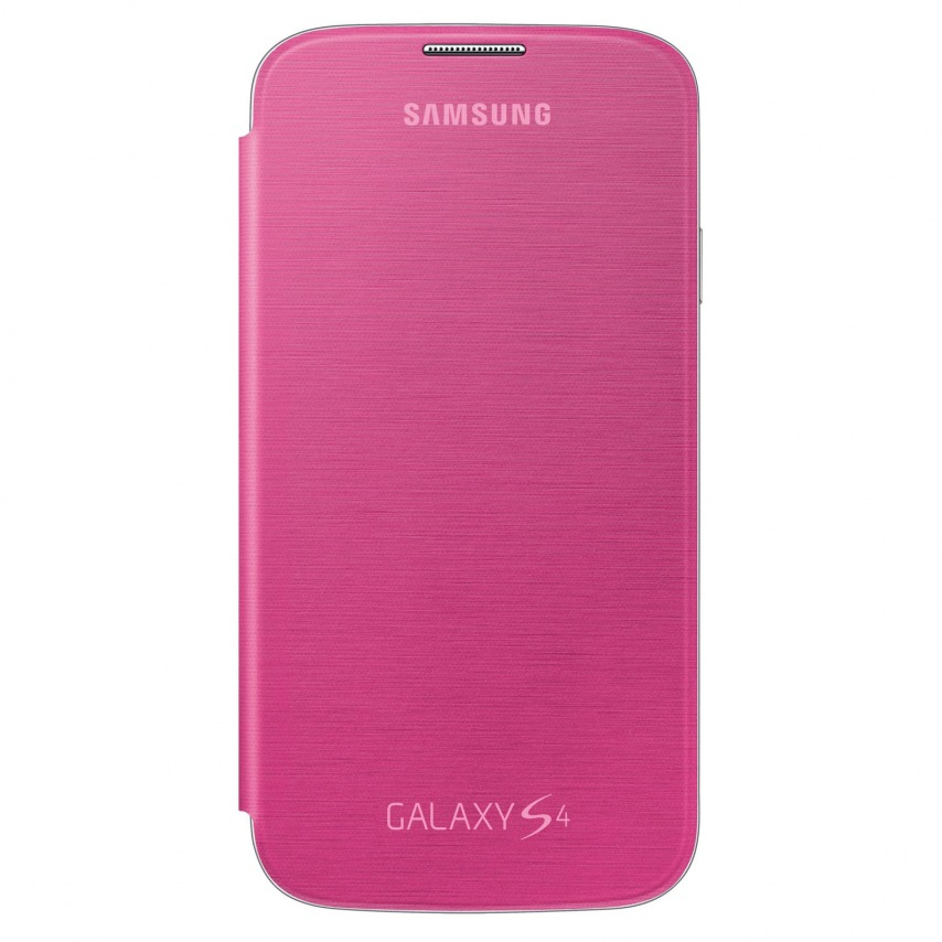 Visuel unique de Samsung Galaxy S4 Flip Cover origine Rose