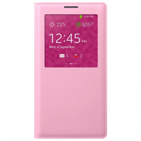 Folio S-View Cover pour Galaxy Note 3 Rose