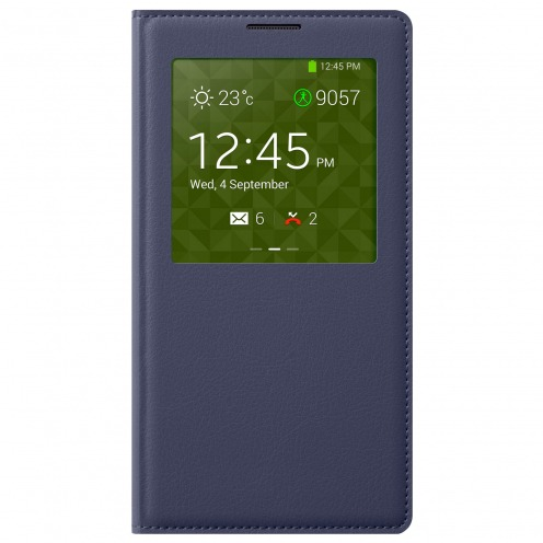 Folio S-View Cover pour Galaxy Note 3 bleu indigo