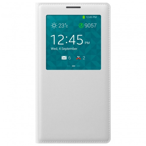 Folio S-View Cover pour Galaxy Note 3 Blanche