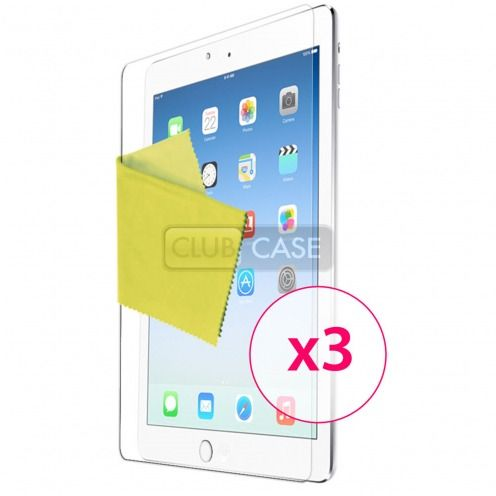 Films de protection iPad Air Clubcase ® HQ Lot de 3