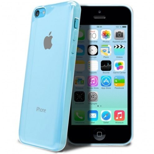 "Coque Souple ""Crystal Clear"" pour iPhone 5C"