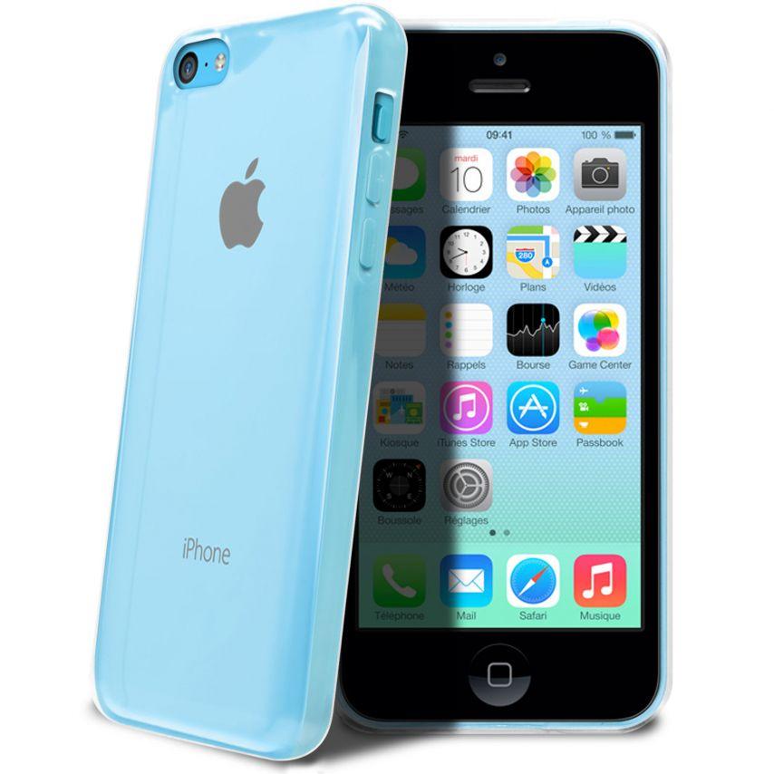 """Visuel supplémentaire de Coque Souple """"Crystal Clear"""" pour iPhone 5C"""