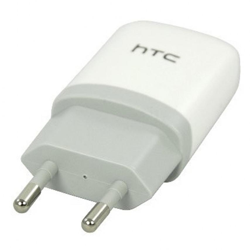 Visuel supplémentaire de Chargeur Secteur USB 1A Origine HTC TC E250 Blanc