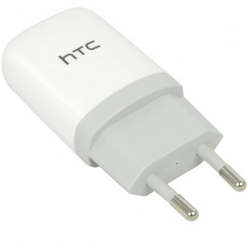 Vue complémentaire de Chargeur Secteur USB 1A Origine HTC TC E250 Blanc
